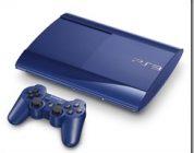 PS3 سـوپر اسلیم  با رنگ آبی نیلی در آمریکای شمالی عرضه میشود