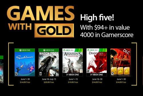 کمپانی مایکروسافت عناوین رایگان ماه June شبکه Xbox Live را اعلام کرد