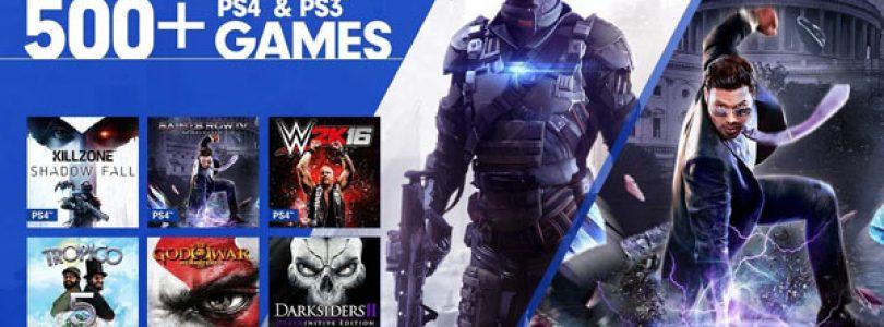تعدادی از بازیهای PS4 برای سرویس PlayStation Now عرضه شد