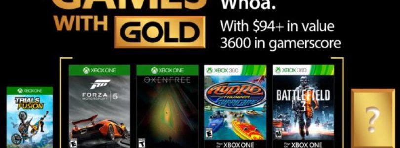 بازی های رایگان ماه سپتامبر Xbox Live Gold مشخص شدند