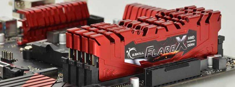 G.SKILL حافظه هایX Flare خود را با چیپست X399 عرضه کرد