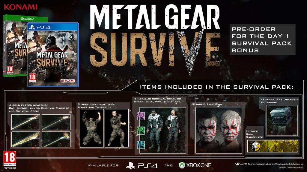تاريخ انتشار بازي «Metal Gear Survive» مشخص شد