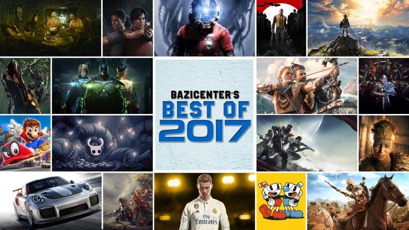 بهترین بازیهای سال ۲۰۱۷