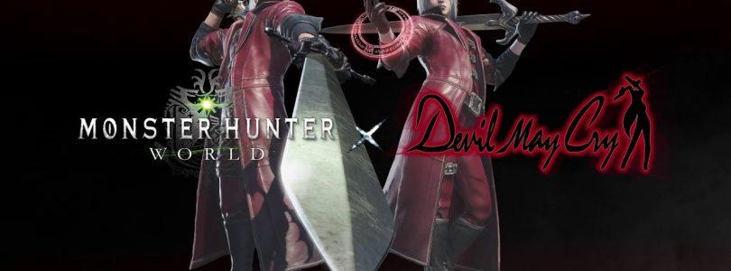 عنوان «Monster Hunter World» کراساوری از «Devil May Cry» دریافت میکند