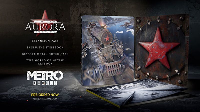 نسخه‌ی ویژه Metro Exodus با نام Aurora Limited Edition معرفی شد