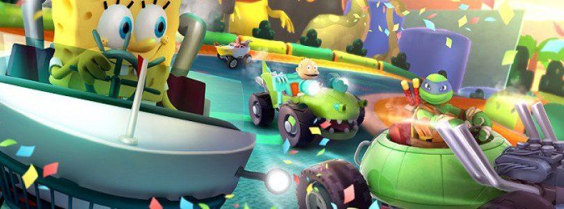 بررسی بازی Nickelodeon Kart Racers