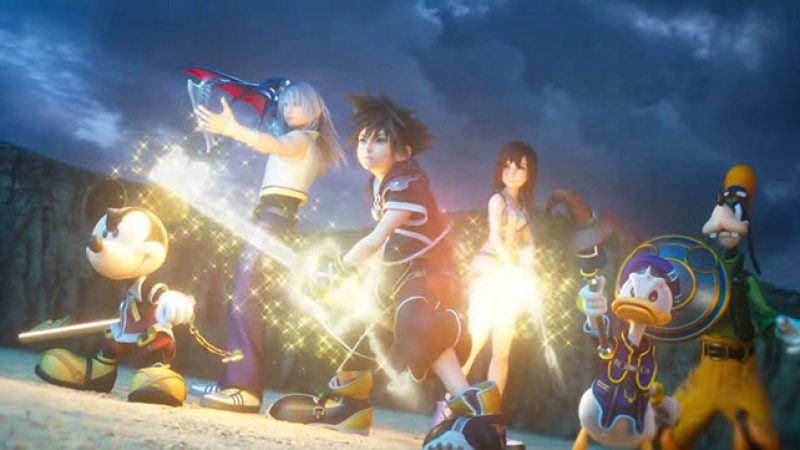 Kingdom Hearts 3 بازی