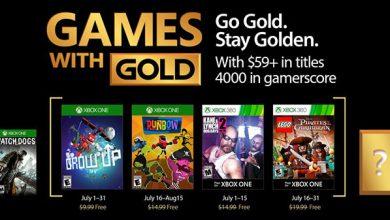 Photo of کمپانی مایکروسافت عناوین رایگان ماه July شبکه Xbox Live را اعلام کرد