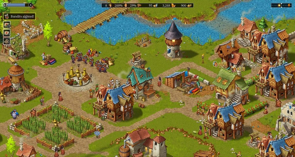 بازی Townsmen - A Kingdom Rebuilt
