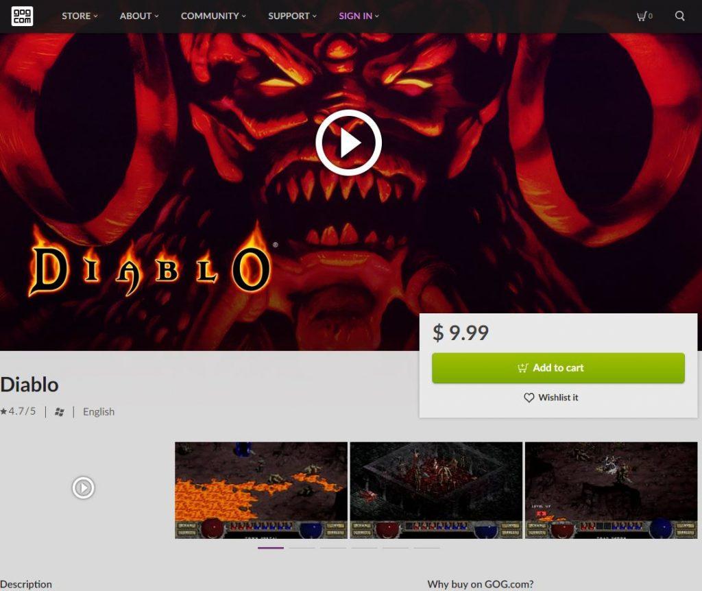 بازی Diablo