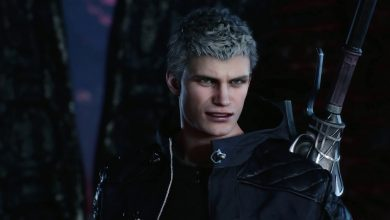 Photo of مرحله اول عنوان Devil May Cry 5