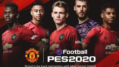 Photo of باشگاه منچستر یونایتد رسما برای بازی PES 2020 لایسنس شد