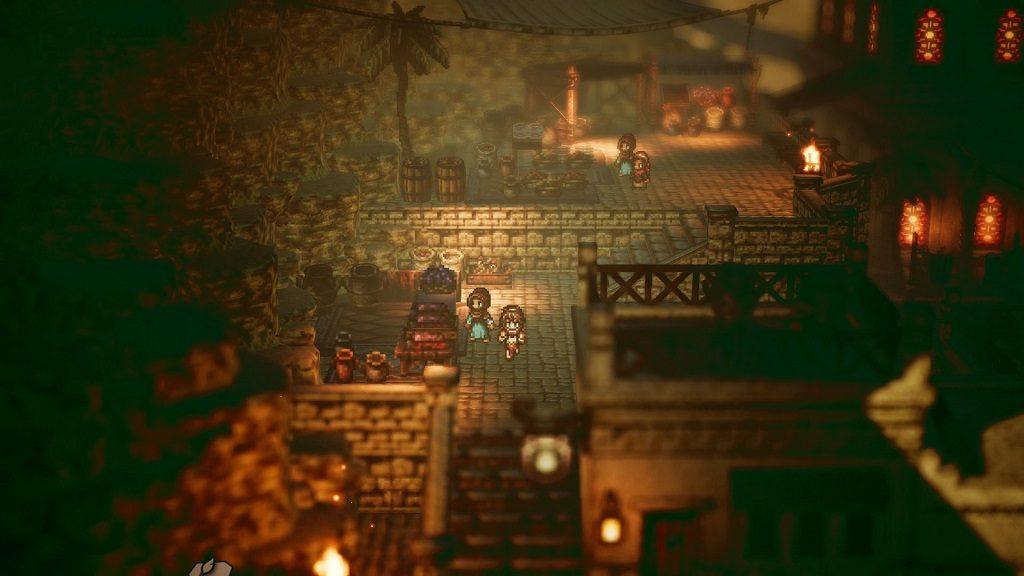 بازی Octopath Traveler