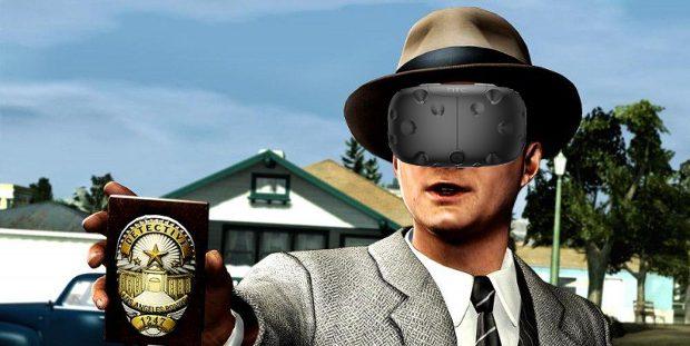 بازی L.A. NOIRE: THE VR CASE