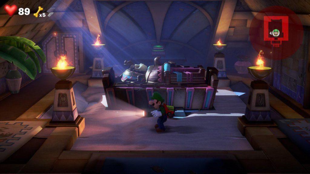 بازی luigi's mansion 3