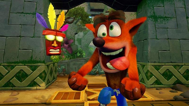 بازی Crash Bandicoot