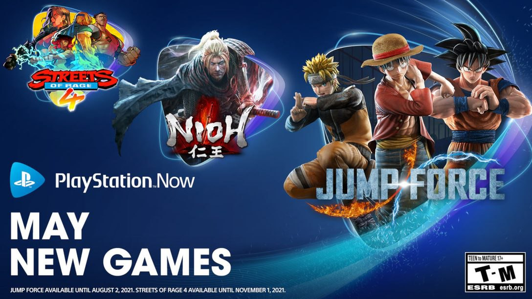 بازیهای ماه می 2021 PlayStation Now