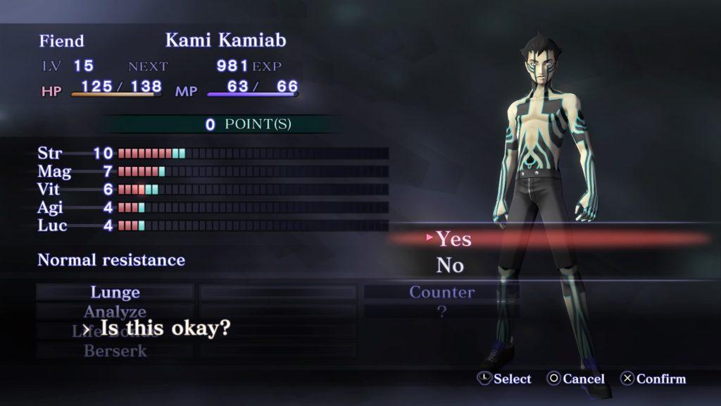 Shin Megami Tensei III Nocturne HD Remaster 4